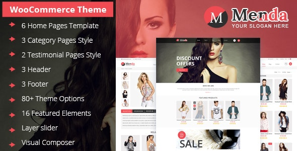 Menda - Ecommerce Wordpress Themes 1