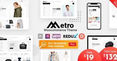 Metro – Minimal WooCommerce WordPress Theme 16