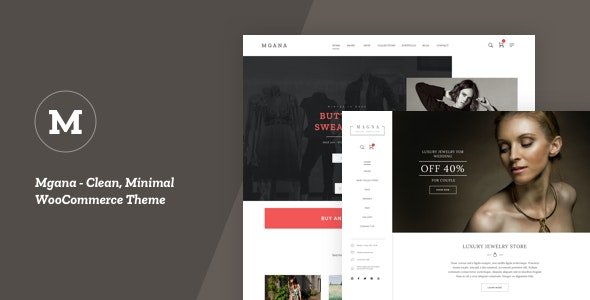 Mgana - Clean, Minimal WooCommerce Theme 1