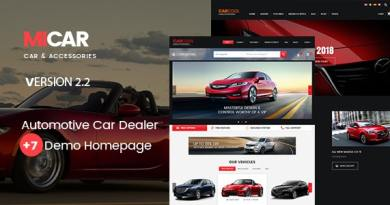 Micar - Auto Dealer RTL WooCommerce WordPress for Car and Moto Theme 3