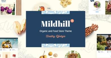 Mildhill - Organic and Food Store Theme 2
