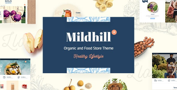 Mildhill - Organic and Food Store Theme 1