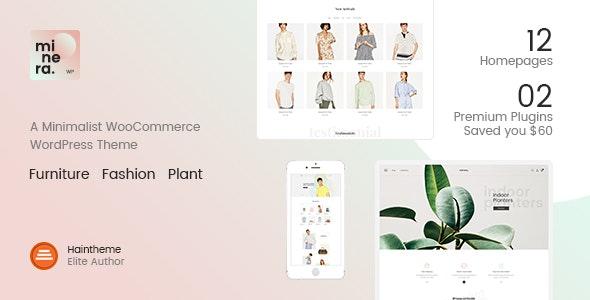 Minera - Minimalist WooCommerce WordPress Theme 3