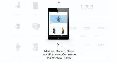 Minishop - Multipurpose, Minimal, e-Commerce, Marketplace WordPress Theme 3