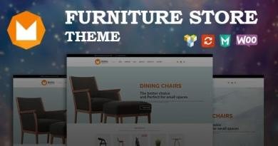 Mobilia - Furniture WooCommerce WordPress Theme 2