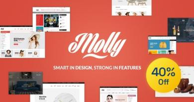 Molly - Fashion Store WooCommerce WordPress Theme 3