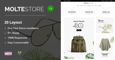 Molte - Store Fashion and Food WooCommerce Theme 4