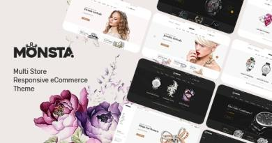Monsta - Jewelry Theme for WooCommerce WordPress 4