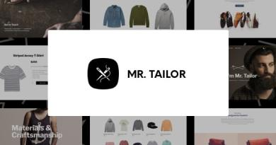 Mr. Tailor - eCommerce WordPress Theme for WooCommerce 4