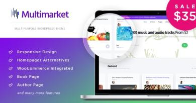 Multimarket - WooCommerce Marketplace Theme 3