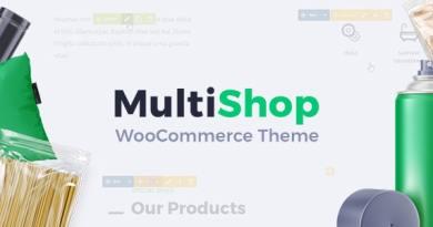 MultiShop - Universal WooCommerce Store Theme 2