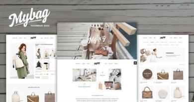 MyBag Single Product WooCommerce Theme 3