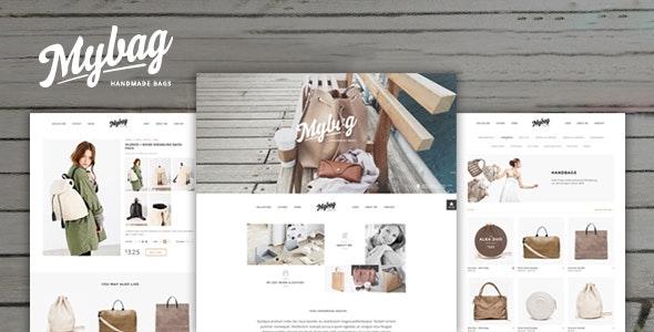 MyBag Single Product WooCommerce Theme 1