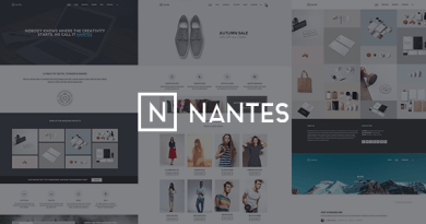 Nantes - Creative Ecommerce & Corporate Theme 3