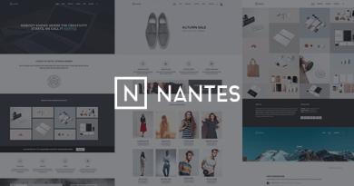 Nantes - Creative Ecommerce & Corporate Theme 2