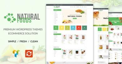 NaturalFood - Responsive WooCommerce WordPress Theme 2