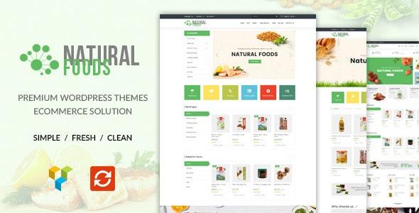 NaturalFood - Responsive WooCommerce WordPress Theme 1