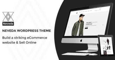 Neveda - Responsive Fashion eCommerce WordPress Theme 3