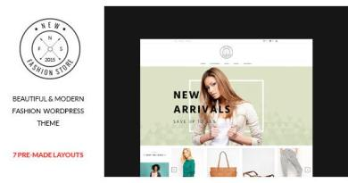 NewFashion - Modern WooCommerce WordPress Theme 4