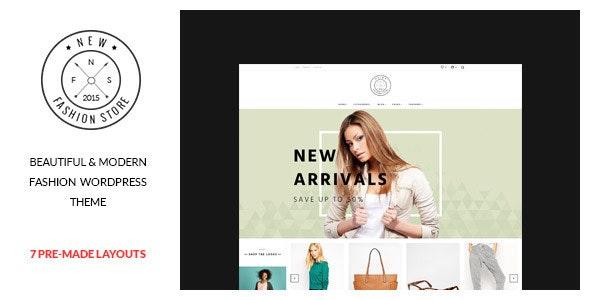 NewFashion - Modern WooCommerce WordPress Theme 5