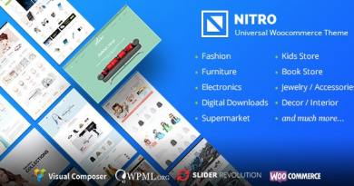Nitro - Universal WooCommerce Theme from ecommerce experts 2