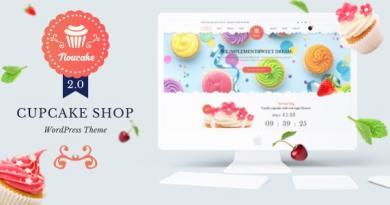 Noucake - Bakery WordPress Theme 4