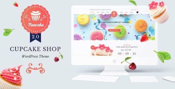 Noucake - Bakery WordPress Theme 1