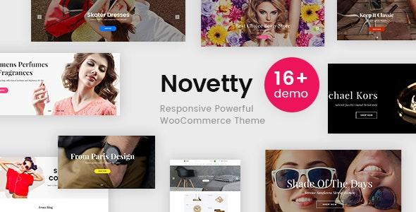 Novetty - Responsive Powerful WooCommerce Theme 1