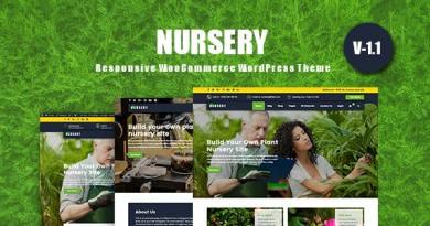 NurseryPlant - Responsive WooCommerce WordPress Theme 4