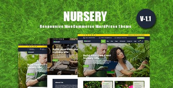 NurseryPlant - Responsive WooCommerce WordPress Theme 2