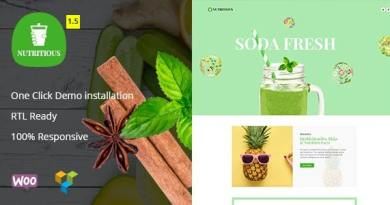 Nutritious - Vitamin Juice WooCommerce Theme 2