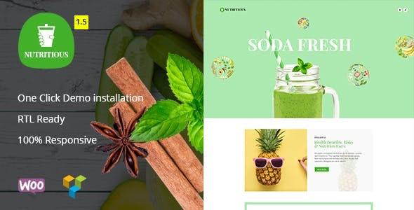 Nutritious - Vitamin Juice WooCommerce Theme 1
