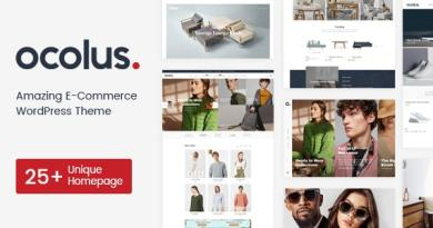 Ocolus - Multi-purposes WooCommerce Theme 3