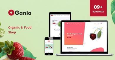 Ogania - Organic & Food WooCommerce WordPress Theme 2