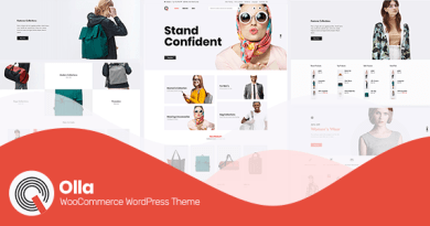 Olla ~ Modern WooCommerce WordPress Theme 2