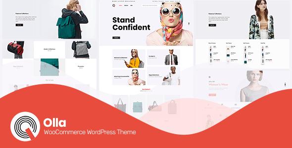 Olla ~ Modern WooCommerce WordPress Theme 1