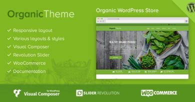 Organic | Farm & Food Business WordPress Theme 3