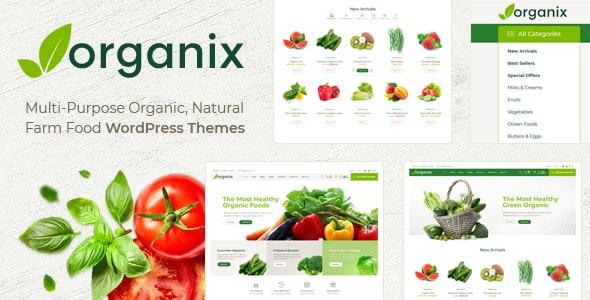 Organix - Organic Food WooCommerce WordPress Theme 7