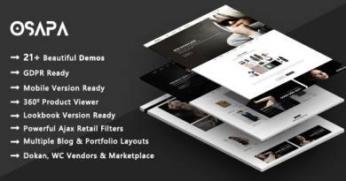 Osapa | Fashion Shop WooCommerce WordPress Theme 3