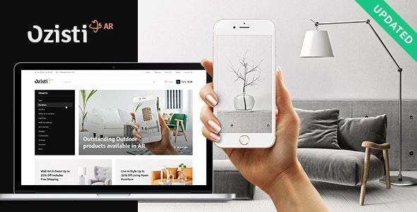 Ozisti | A Multi-Concept WooCommerce WordPress Theme Augmented Reality Store Ready 1
