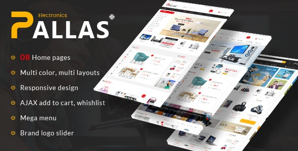 Pallas - Electronics Theme for WooCommerce WordPress 1