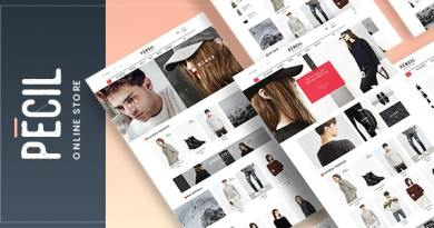 Pecil - Awesome Fashion WooCommerce Theme 2