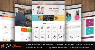 Pet Store - WordPress WooCommerce Theme 3