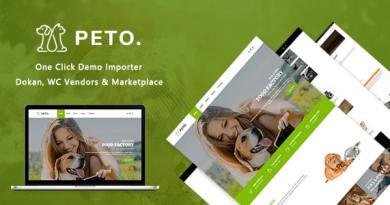 Peto | Animal Care WooCommerce WordPress Theme 3