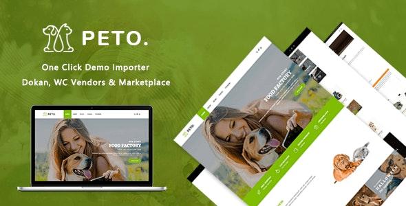 Peto   Animal Care WooCommerce WordPress Theme 1