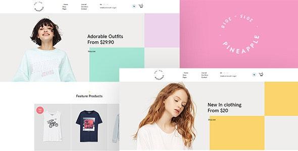 Pineapple - Fashion WooCommerce WordPress Theme 1