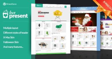Present - Pro GiftShop WordPress Theme 3