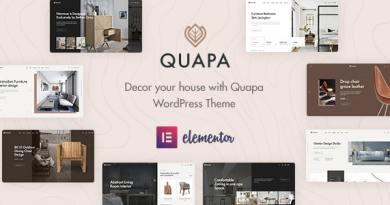 Quapa - Furniture WooCommerce WordPress Theme 2