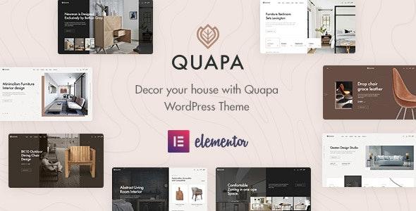 Quapa - Furniture WooCommerce WordPress Theme 1