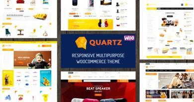 Quartz - Responsive Multipurpose WooCommerce Theme 2